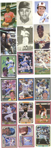 "Autographs:Photos, Massive Collection of Signed Photographs Lot of Over 140. Several 3.5x5.5"" signed photos, postcards and oversized baseball ..."