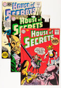 Silver Age (1956-1969):Mystery, House of Secrets Group (DC, 1960-61).... (Total: 6 Comic Books)