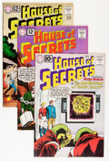 Silver Age (1956-1969):Mystery, House of Secrets Group (DC, 1961-62) Condition: Average VF/NM....(Total: 4 Comic Books)