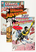 Silver Age (1956-1969):Science Fiction, Strange Adventures Group (DC, 1958-62) Condition: Average FN/VF.... (Total: 5 Comic Books)