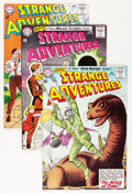 Silver Age (1956-1969):Science Fiction, Strange Adventures #159-161 Group (DC, 1963-64) Condition: AverageVF/NM.... (Total: 3 Comic Books)