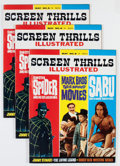Magazines:Vintage, Screen Thrills Illustrated #8 Group (Warren, 1964) Condition: Average NM.... (Total: 3 Comic Books)