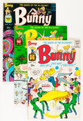 Silver Age (1956-1969):Humor, Bunny #2-21 File Copy Group (Harvey, 1966-76) Condition: Average NM-.... (Total: 63 Comic Books)