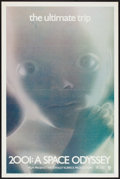 """Movie Posters:Science Fiction, 2001: A Space Odyssey (MGM, R-1971). One Sheet (27"""" X 41"""") FlatFolded. Science Fiction.. ..."""
