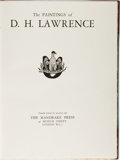 Books:Art & Architecture, D. H. Lawrence. The Paintings of D. H. Lawrence. Mandrake Press, 1929. Limited to 510 numbered copies. Publi...