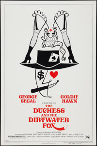 """The Duchess and the Dirtwater Fox (20th Century Fox, 1976). One Sheet (27"""" X 41"""") Style B Flat Folded. Comedy..."""