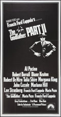 """Movie Posters:Crime, The Godfather Part II and Other Lot (Paramount, 1974).International Three Sheet (41"""" X 81"""") Flat Folded and Lobby Cards(4)... (Total: 5 Items)"""