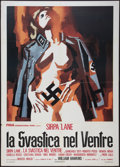 "Movie Posters:Exploitation, Nazi Love Camp 27 (Fida, 1977). Italian 2 - Foglio (39"" X 55"").Exploitation.. ..."