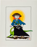 Original Comic Art:Illustrations, Stan Sakai Usagi Yojimbo Original Art Illustration(1987)....