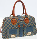 Luxury Accessories:Bags, Marc Jacobs Quilted Denim and Leather Venetia Bag. ...