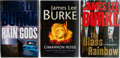 Books:Mystery & Detective Fiction, James Lee Burke. Group of Three Signed First Edition, FirstPrinting Books. Various publishers. Fine.... (Total: 3 Items)