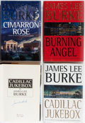 Books:Mystery & Detective Fiction, James Lee Burke. Group of Four Signed First Edition, First PrintingBooks. Hyperion. Two copies of Cadillac Jukebox,... (Total: 4Items)