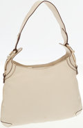 Luxury Accessories:Bags, Gucci Cream Leather Princy Hobo Shoulder Bag with Horsebit Accents....