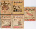 Books:Americana & American History, Jim Jam Junior. Group of Five Jim Jam Jems. Clark,1921-1924. Rubbing and toning to wrappers with staining to so...(Total: 5 Items)
