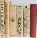 Books:Books about Books, [Books About Books]. Maurice Sendak, Beatrix Potter, and Others. Group of 7 Related to Children's Books. Various publishers....
