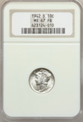Mercury Dimes: , 1942-D 10C MS67 Full Bands NGC. NGC Census: (645/11). PCGSPopulation (485/23). Mintage: 60,740,000. Numismedia Wsl. Price ...