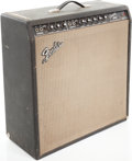 Musical Instruments:Amplifiers, PA, & Effects, Circa 1966 Fender Concert Amp Black Guitar Amplifier, Serial # A04619...