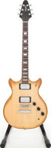 Musical Instruments:Electric Guitars, Late 1970s Memphis Natural Solid Body Electric Guitar. ...
