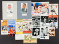 Autographs:Photos, Baseball Greats Signed Collection of 16.....