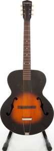 Musical Instruments:Acoustic Guitars, Late 1930s Gibson Cromwell G-4 Sunburst Archtop Acoustic Guitar....