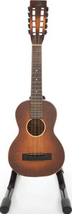Musical Instruments:Acoustic Guitars, 1930s Regal Sunburst Tiple....