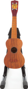 Musical Instruments:Banjos, Mandolins, & Ukes, 1930s Wendell Hall Red Head Natural Ukulele....