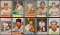 Baseball Cards:Sets, 1954 Bowman Baseball Near Set (205/224). ...