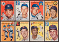 Baseball Cards:Sets, 1954 Topps Baseball Partial Set (172/250). ...