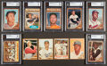 Baseball Cards:Sets, 1962 Topps Baseball Partial Set (382) With A Few Variations. ...