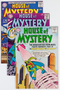 Silver Age (1956-1969):Horror, House of Mystery Group (DC, 1964-65) Condition: Average VF+....(Total: 4 Comic Books)