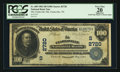 National Bank Notes:Tennessee, Clarksville, TN - $100 1902 Date Back Fr. 689 The Clarksville NBCh. # (S)2720. ...