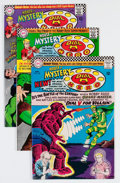 Silver Age (1956-1969):Horror, House of Mystery Group (DC, 1966-67) Condition: Average FN/VF....(Total: 8 Comic Books)