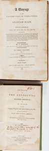 Books:Americana & American History, [South America]. Two Early Nineteenth Century Works on SouthAmerica. The 1806 imprint has a folding map, a long horizontal ...(Total: 2 Items)