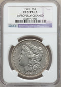 Morgan Dollars: , 1901 $1 -- Improperly Cleaned -- NGC Details. XF. NGC Census:(102/3786). PCGS Population (140/3684). Mintage: 6,962,813. N...