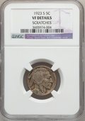 Buffalo Nickels: , 1923-S 5C -- Scratches -- NGC Details. VF. NGC Census: (40/943).PCGS Population (44/1261). Mintage: 6,142,000. Numismedia ...