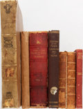 Books:World History, Group of Seven Mostly 19th Century Books. Edmund Burke, Robert Service, and Others. Various publishers. Poor or better condi... (Total: 7 Items)