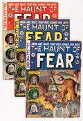 Golden Age (1938-1955):Horror, Haunt of Fear #11-13 Group (EC, 1952) Condition: Average VG-....(Total: 3 Comic Books)