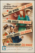 "Movie Posters:Drama, The Glass Menagerie (Warner Brothers, 1950). One Sheet (27"" X 41"").Drama.. ..."