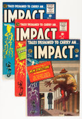 Golden Age (1938-1955):Horror, Impact #1-5 Group (EC, 1955) Condition: Average FN+.... (Total: 5Comic Books)