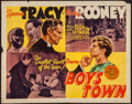 "Movie Posters:Drama, Boys Town (MGM, 1938). Half Sheet (22"" X 28""). Drama.. ..."