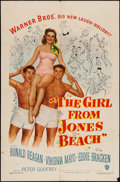"""Movie Posters:Comedy, The Girl from Jones Beach (Warner Brothers, 1949). One Sheet (27"""" X41""""). Comedy.. ..."""