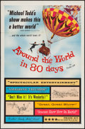 "Movie Posters:Adventure, Around the World in 80 Days (United Artists, 1956). One Sheet (27"" X 41""). Adventure.. ..."