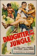 """Movie Posters:Adventure, Daughter of the Jungle (Republic, 1949). One Sheet (27"""" X 41"""").Adventure.. ..."""
