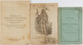 Books:Americana & American History, [Native Americans]. Three Early Pamphlets Related to NativeAmericans. Middle publication is undated; the other two are 1916...