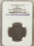 Large Cents: , 1796 1C Liberty Cap -- Environmental Damage -- NGC Details. VG.S-89. NGC Census: (5/81). PCGS Population (14/125). Mintag...