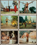 """Movie Posters:Adventure, Tarzan's Three Challenges (MGM, 1963). Color Photo Set of 12 (8"""" X10""""). Adventure.. ... (Total: 12 Items)"""