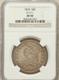Bust Half Dollars: , 1818 50C XF45 NGC. O-111. NGC Census: (71/512). PCGS Population(101/392). Mintage: 1,960,322. Numismedia Wsl. Price for p...