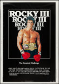 """Movie Posters:Sports, Rocky III & Other Lot (United Artists, 1982). Poster (30"""" X 43"""") & One Sheet (27"""" X 41""""). Sports.. ... (Total: 2 Items)"""