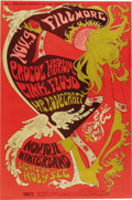 Music Memorabilia:Posters, Procol Harum/Pink Floyd Fillmore/Winterland Concert Poster BG-92 (Bill Graham, 1967). This very attractive poster, featurin... (Total: 1 Item)