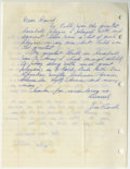Autographs:Letters, Baseball Hall of Famers Signed Handwritten Letters Lot of 3. Fewmementos evoke the charm of a fan's fulfilled request for ...